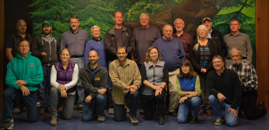 2017 McKenzie Watershed Council Retreat - Council Partners group photo